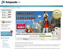 Gutschein kostenlos fotopuzzle